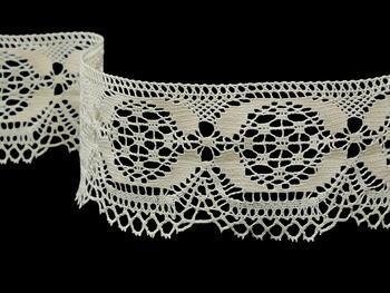 Bobbin lace No. 81831 ecru | 30 m - 4