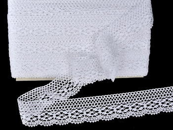Bobbin lace No. 81931 white | 30 m - 4