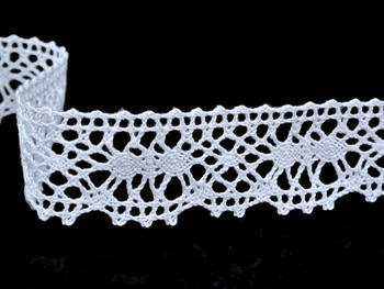 Bobbin lace No. 82103 white | 30 m - 4