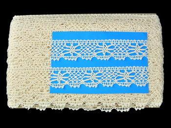 Bobbin lace No. 82113 ecru | 30 m - 4