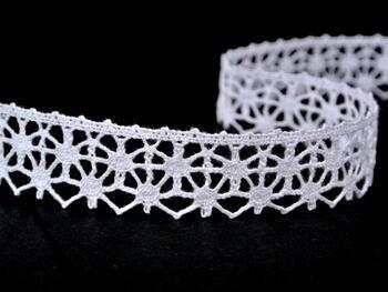 Bobbin lace No. 82119 white | 30 m - 4