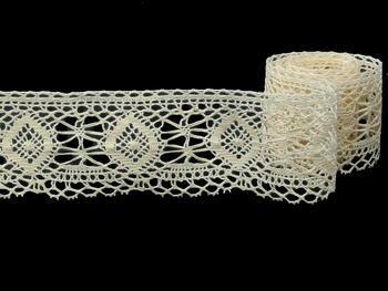 Bobbin lace No. 82128 ecru| 30 m - 4