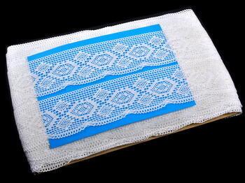 Bobbin lace No. 82132 white | 30 m - 4