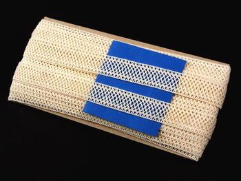 Paličkovaná vsadka vzor 82134 režná | 30 m - 4