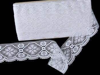 Bobbin lace No. 82147 white | 30 m - 4