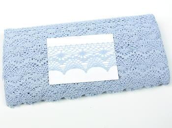 Bobbin lace No. 82157 light blue | 30 m - 4