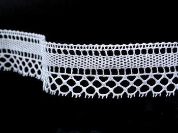 Bobbin lace No. 82169 white   30 m - 4