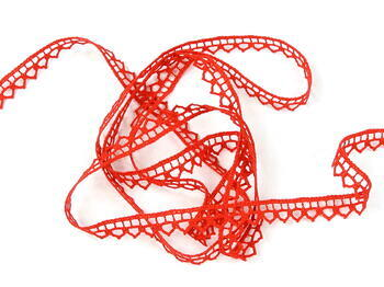 Bobbin lace No. 82195 red | 30 m - 4