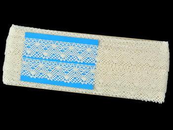 Bobbin lace No. 82198 ecru | 30 m - 4