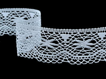 Bobbin lace No. 82210 white | 30 m - 4
