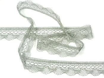 Bobbin lace No. 82216 silver | 30 m - 4