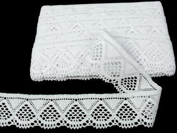 Bobbin lace No. 82283 white | 30 m - 4