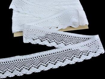 Bobbin lace No. 82288 white | 30 m - 4