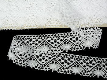 Bobbin lace No.  82316 white | 30 m - 4