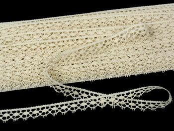 Bobbin lace No. 82322 ecru | 30 m - 4
