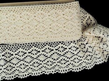 Bobbin lace No.82336 ecru | 30 m - 4