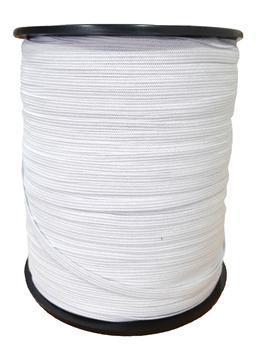 Pletená pruženka roušková 75644 bílá | 550 m - 4