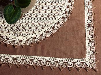 Bobbin lace No. 75041 white | 30 m - 5
