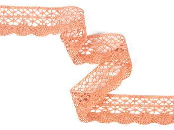 Bobbin lace No. 75077 salmon pink | 30 m - 5