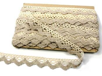 Bobbin lace No. 75220 ecru/light linen   30 m - 5