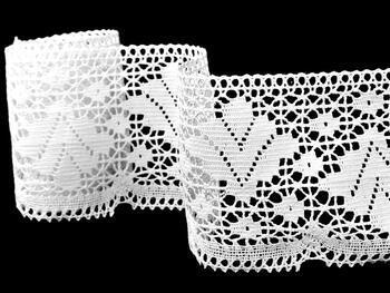 Bobbin lace No. 75224 white | 30 m - 5