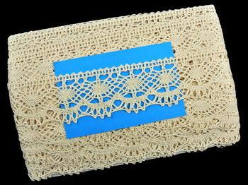 Bobbin lace No. 75238 ecru | 30 m - 5
