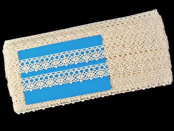 Bobbin lace No. 75239 ecru | 30 m - 5
