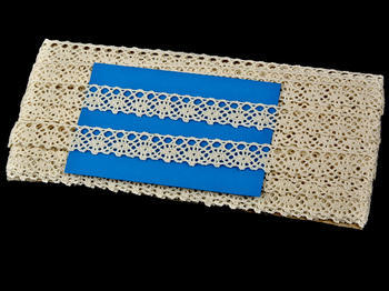 Bobbin lace No. 75244 ecru | 30 m - 5
