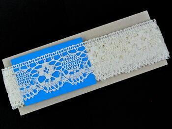 Bobbin lace No. 75253 bleched linen | 30 m - 5