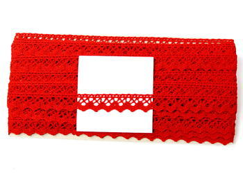 Bobbin lace No. 75259 red | 30 m - 5
