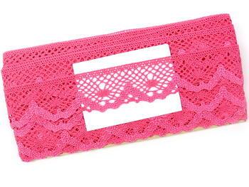 Bobbin lace No. 75261  fuchsia | 30 m - 5