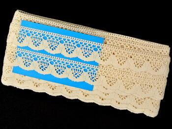 Bobbin lace No. 75292 ecru | 30 m - 5