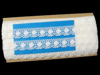 Bobbin lace No. 75327 white | 30 m - 5