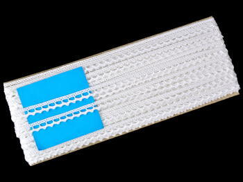 Bobbin lace No. 75397 white | 30 m - 5