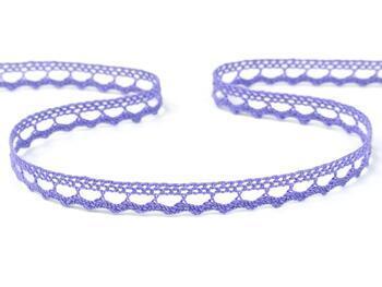 Cotton bobbin lace 75397, width 9 mm, purple II - 5