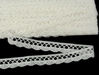 Bobbin lace No. 75428/75099 light creamy | 30 m - 5