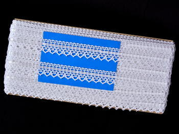 Bobbin lace No. 75445 white | 30 m - 5