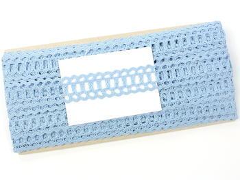 Bobbin lace No. 75571 light blue II. | 30 m - 5