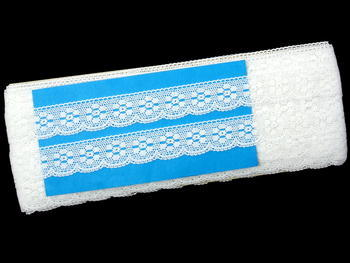Bobbin lace No. 75623 white | 30 m - 5