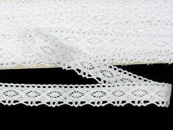 Bobbin lace No. 75624 white | 30 m - 5