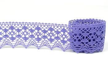 Paličkovaná krajka vzor 75625 purpurová II. | 30 m - 5