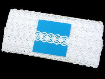 Paličkovaná krajka vzor 75628 bílá | 30 m - 5