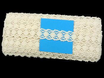 Bobbin lace No. 75628 ecru | 30 m - 5