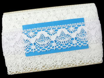 Bobbin lace No. 81289 white | 30 m - 5
