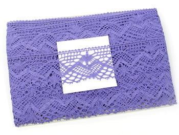 Paličkovaná krajka vzor 81294 purpurová II. | 30 m - 5