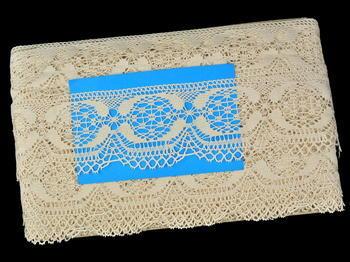 Bobbin lace No. 81831 ecru | 30 m - 5