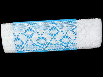 Bobbin lace No. 82027 white | 30 m - 5