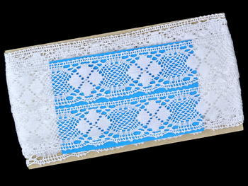 Bobbin lace No. 82116 white | 30 m - 5