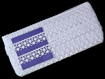 Bobbin lace No. 82119 white | 30 m - 5
