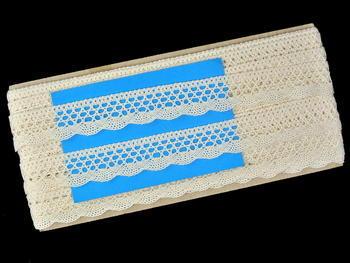 Bobbin lace No. 82122 ecru | 30 m - 5